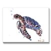 Americanflat Tortoise Painting Print on Canvas