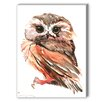 Americanflat Owl 3 Painting Print on Canvas