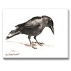 Americanflat Crow Painting Print on Canvas