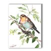 Americanflat Bird Painting Print on Canvas