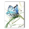 Americanflat Butterfly 3 Painting Print on Canvas