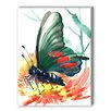 Americanflat Butterfly Painting Print on Canvas