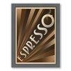 Americanflat Espresso Framed Vintage Advertisement