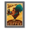 Americanflat Rooster Framed Vintage Advertisement