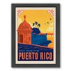 Americanflat Puerto Rico Framed Vintage Advertisement
