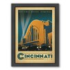 Americanflat Cincinnati Framed Vintage Advertisement