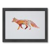 Americanflat Fox Woodland Framed Graphic Art