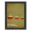 Americanflat Goldilock Framed Graphic Art