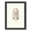 Americanflat Rabbit Art Framed Graphic Art