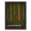 Americanflat Riding Hood Framed Graphic Art