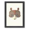 Americanflat Bear Art Framed Graphic Art