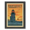 Americanflat Nantucket Framed Vintage Advertisement