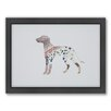 Americanflat Dalmatian Woodland Framed Graphic Art