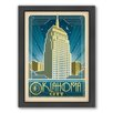 Americanflat Oklahoma City Framed Vintage Advertisement