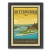 Americanflat Pittsburgh Framed Vintage Advertisement