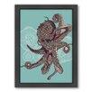 Americanflat Octopus Bloom Framed Graphic Art