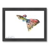 Americanflat Guppy Framed Painting Print