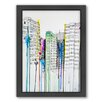 Americanflat Hold Your Breath Framed Painting Print