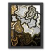 Americanflat Sedona Framed Graphic Art in Gold
