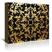Americanflat Third Eye Graphic Art on Gallery Wrapped Canvas in Black