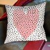 Americanflat Dotty Heart Pillow