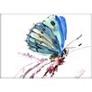 Americanflat Butterfly by Suren Nersisyan Painting Print