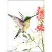 Americanflat Hummingbird 5 by Suren Nersisyan Painting Print