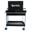 "Excel Hardware 30"" Wide 1 Drawer Tool Cart"