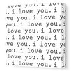 <strong>Imaginations 'I Love You' Stretched Canvas Art</strong> by Avalisa