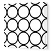 <strong>Pattern Circles Stretched Canvas Art</strong> by Avalisa