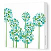<strong>Imaginations Allium Stretched Canvas Art</strong> by Avalisa