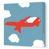 <strong>Things That Go Flying Stretched Canvas Art</strong> by Avalisa