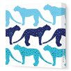 Avalisa Animals Cheetah Stretched Canvas Art