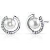 Oravo Cultured Pearl Stud Earrings