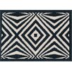 Loloi Rugs Terrace Ivory/Black Outdoor Area Rug