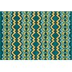 Loloi Rugs Catalina Peacock/Citron Indoor/Outdoor Rug