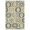 Loloi Rugs Francesca Ivory/Graphite Floral Area Rug