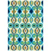 Loloi Rugs Enzo Ivory & Blue Indoor/Outdoor Area Rug