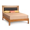 Copeland Furniture Monterey Upholstered Microsuede Panel Bed
