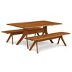 Copeland Furniture Audrey Fixed Top Dining Table