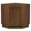 Copeland Furniture Moduluxe 1 Drawer over 1 Door Corner Chest