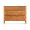 Dominion 3 Drawer Chest with Overhanging Top