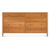 "Dominion 73""W 8 Drawer Chest"