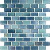 Casa Italia Fashion Glass Mosaic in Mix Azzurro