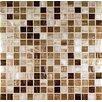 Casa Italia Glass Mosaic in Mix Gold