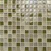 <strong>Casa Italia</strong> Crystal-A Glass Mosaic in Mix Forest Gloss