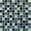 Casa Italia Crystal-A Glass Mosaic in Classic Mix Frosted