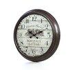 "Aspire Oversized 28"" Bordeaux Vintage Style Wall Clock"
