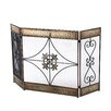 <strong>Aspire</strong> 3 Panel Wrought Iron Fireplace Screen