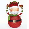 <strong>Roman, Inc.</strong> Large Santa with Garland Figurine